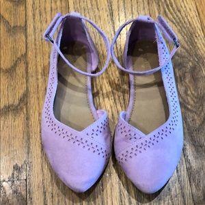 Girls Lavender Dress Shoes